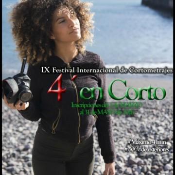 IX edición del Festival Internacional de Cortometrajes 4 en Cort