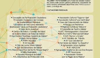 Cartel II Encuentro de Asociaciones en Gáldar