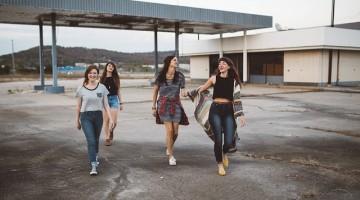 Chicas jóvenes. Foto: EL Norte Hoy