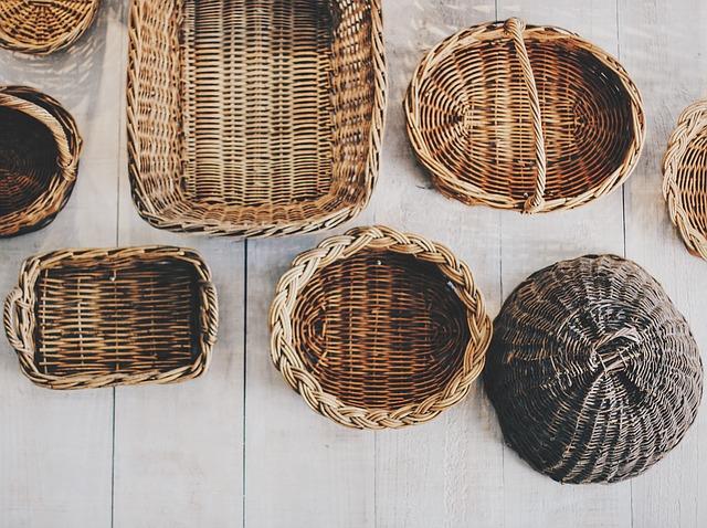 Cestería, cestas. Foto: El Norte Hoy